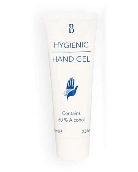 Brilliant Smile Hygenic Hand gel 60 % hånddesinfeksjon 75 ml