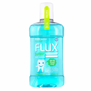 Flux Junior munnskyll Fruitmint 0,05 % fluor 500 ml