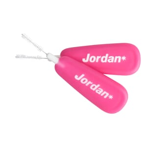 Jordan Brush Between mellomromsbørste XS Rosa 10 stk